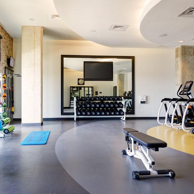 Archer Hotel Florham Park — Fitness Studio