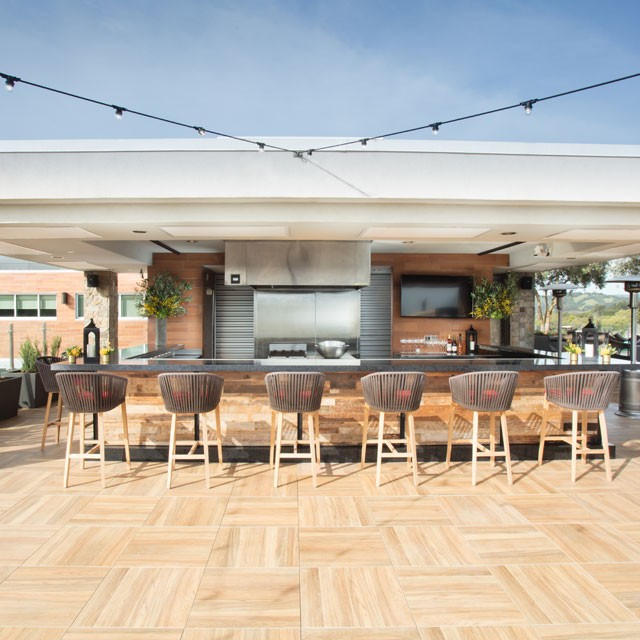 Rendering for Rooftop Napa