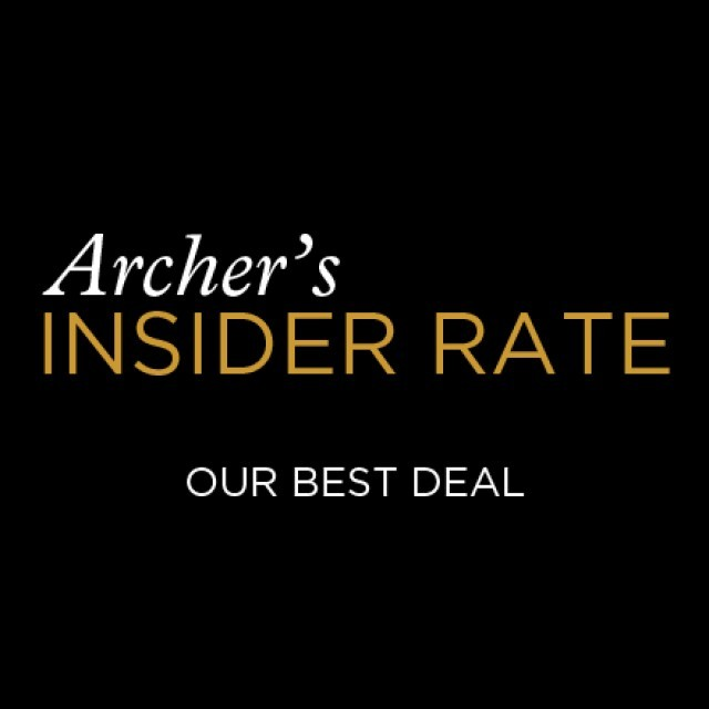 Archer's Insider Rate — Our best deal