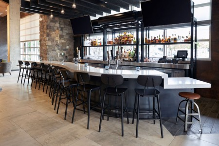Archer's Bar with seating